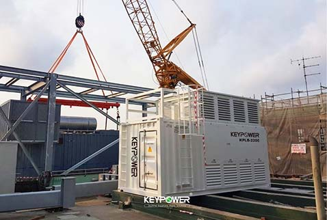 KEYPOWER Resistive 2200KW  load bank for data center